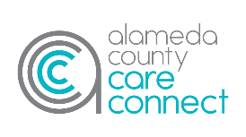 Alameda County Care Connect logo.